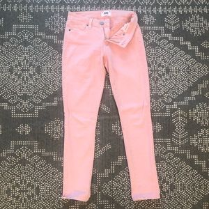 Paige Pink skinny jeans
